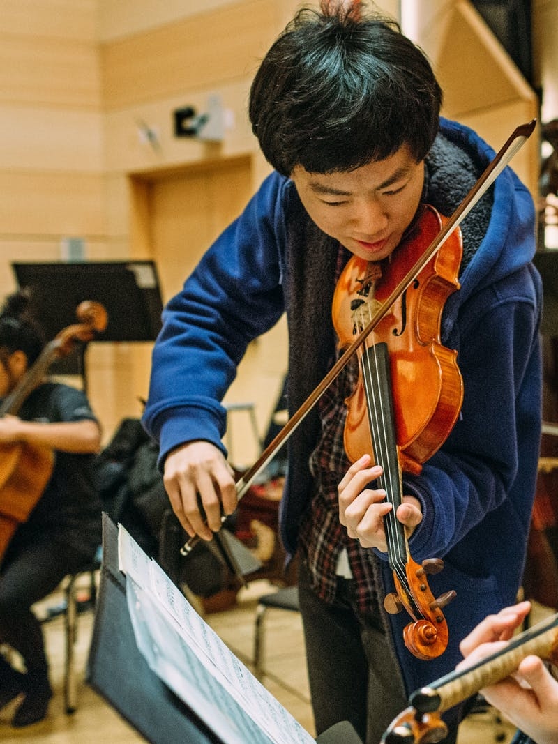 20 - Violin Student