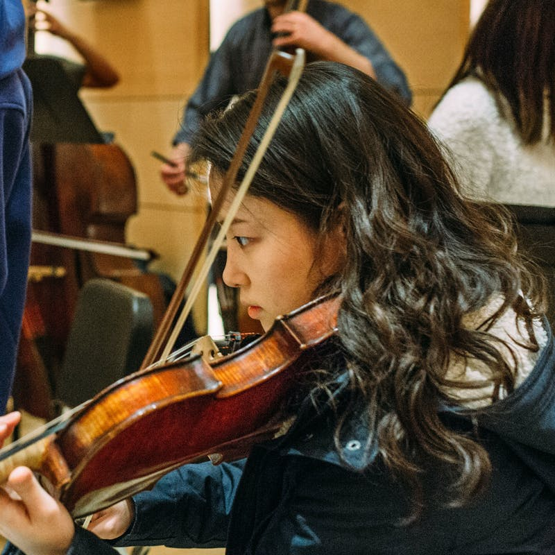22 - Violin Student