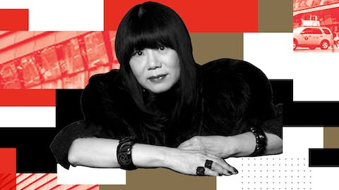 At the Parsons Table with Ana Sui