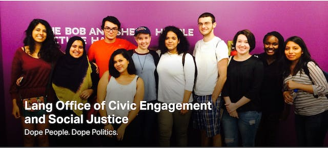 Civic Engagement and Social Justice Blog