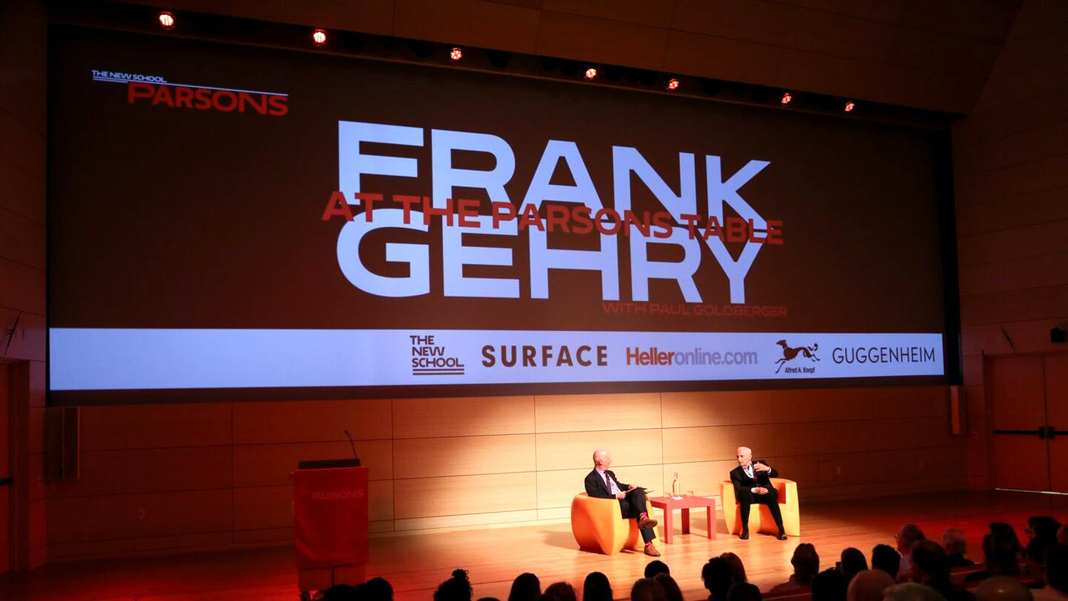 Frank Gehry event