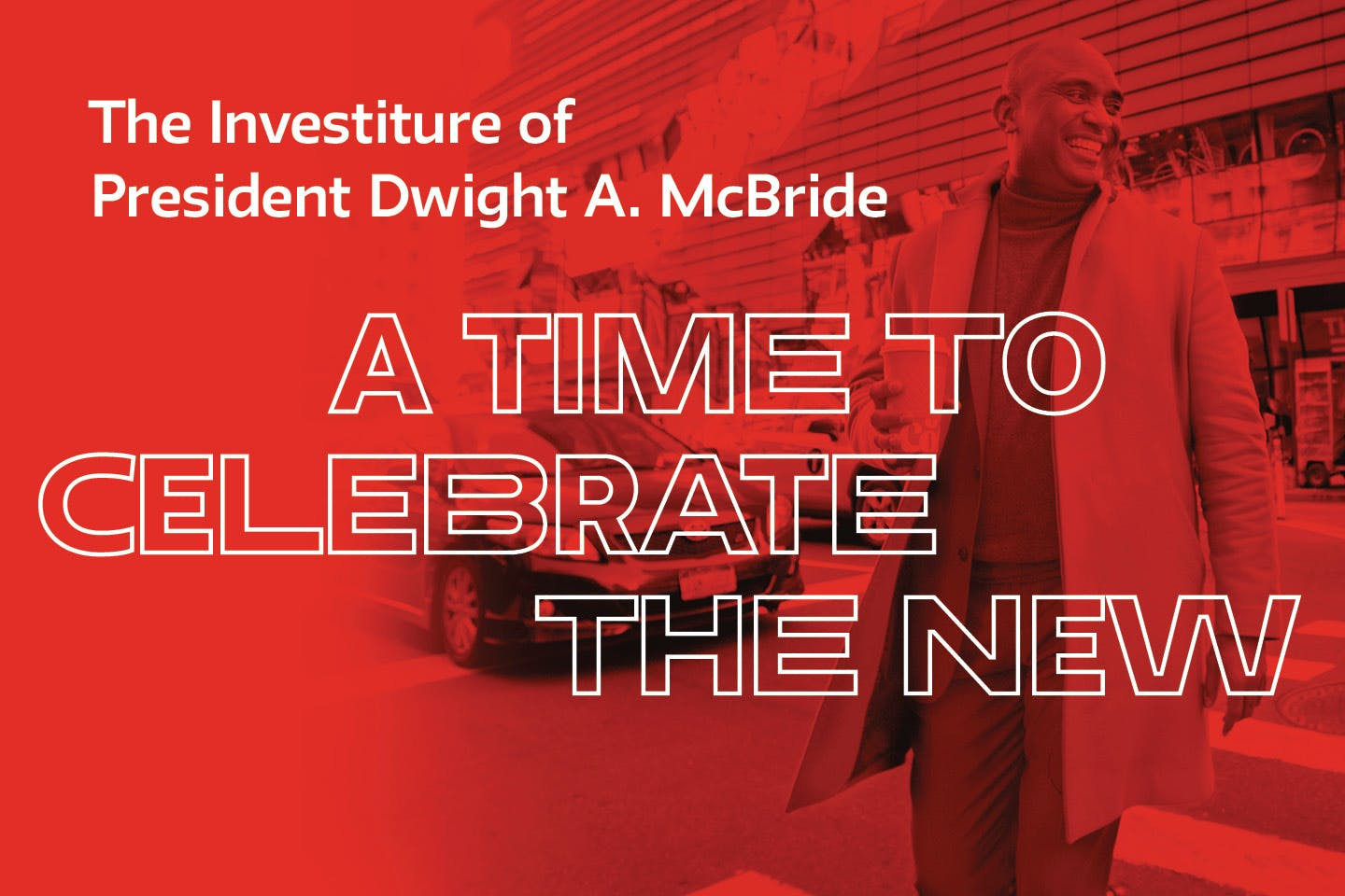 The New School Community celebrates the Investiture of President Dwight A. McBride.