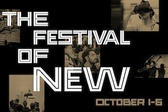 Festival of New - Save the Date