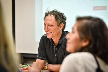 Faculty - Teacher laughing