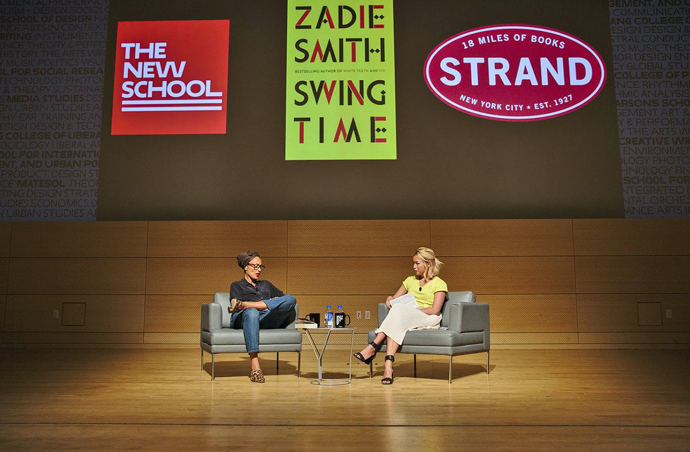 SPE Events Slideshow - Zadie Smith