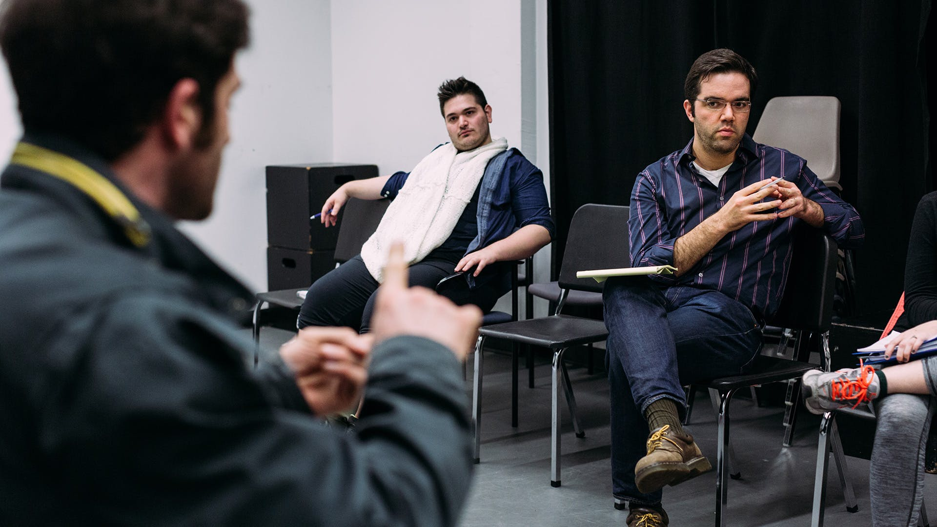 In class directing