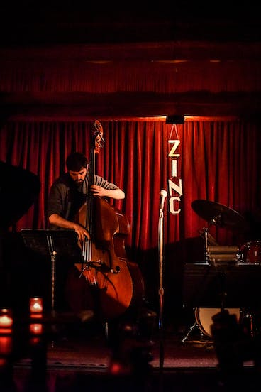 John Koozin at Zinc Bar