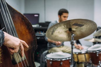 Bassist and Drums