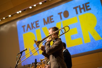 Take me to the River Trombonist