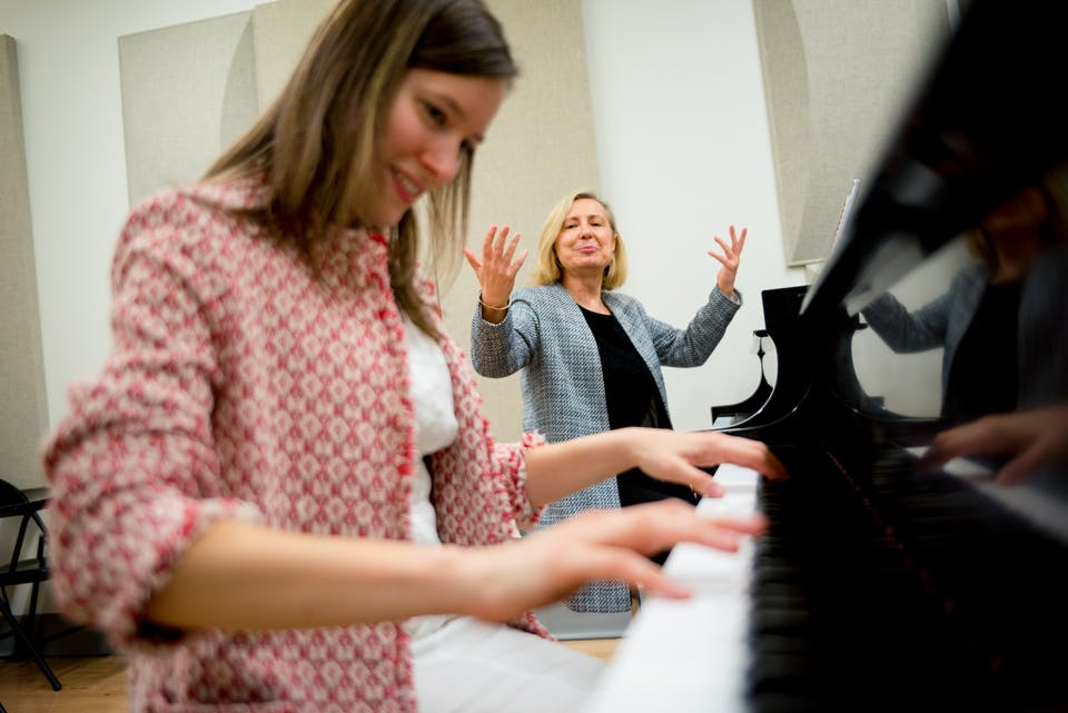 Piano and Harp Faculty