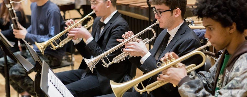 Mannes Prep Trumpets
