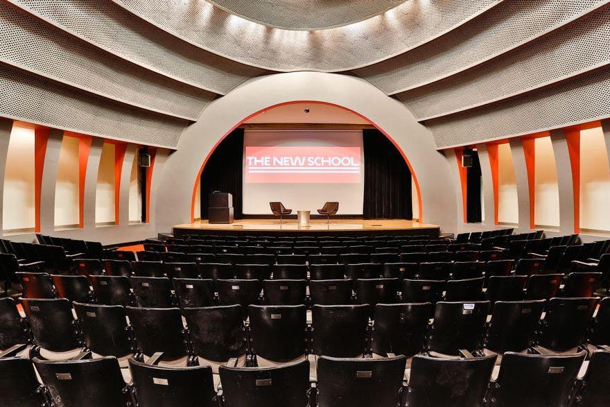Auditorium at 66 West 12th Street