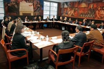 Leadership meeting in Orozco