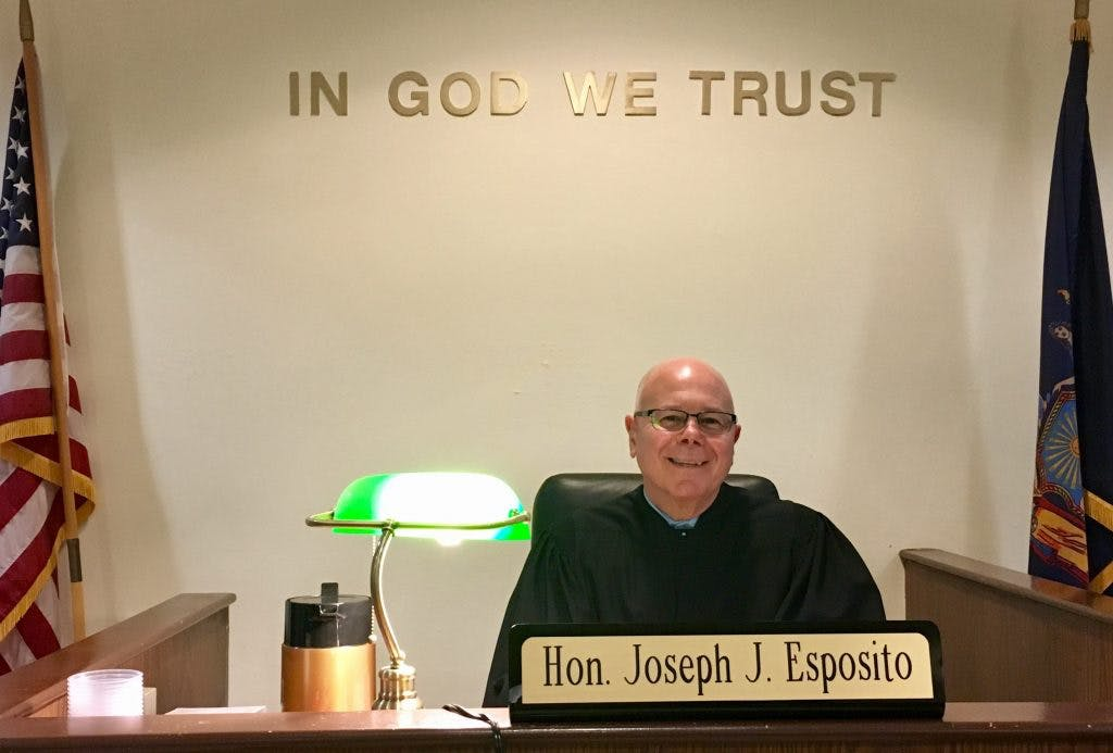 Joseph J. Esposito Sworn In as New York Supreme Court Justice