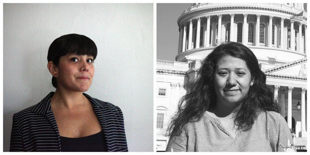 Tania Aparicio and Guadalupe Chavez